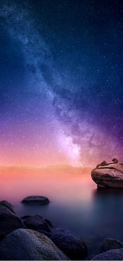 Redmi Note Pro Galaxy Wallpapers Iphone Xs