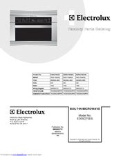 electrolux esoess  wall oven manuals manualslib