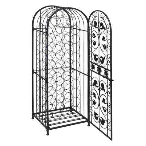 metal wine rack cabinet vidaxl co uk metal wine cabinet rack wine stand for 45