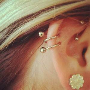 I want this earring for my double piercing! | p i e r c e ...