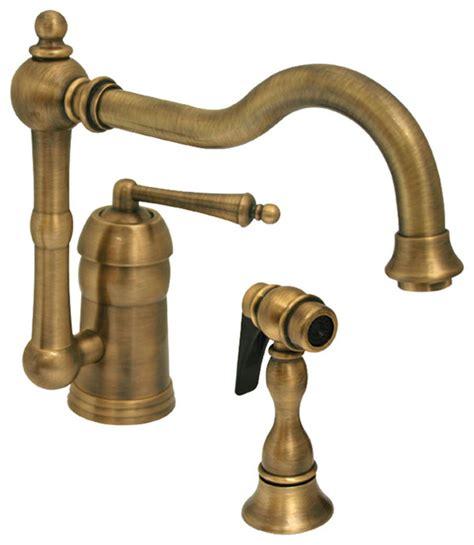 solid brass kitchen faucet legacyhaus single lever handle faucet swivel spout