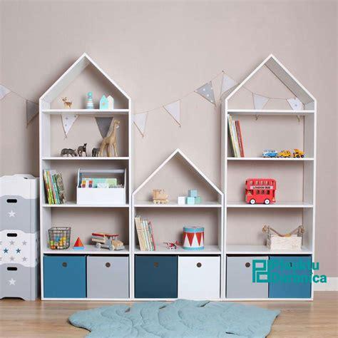 Komplekts plaukts mājiņa bērnu istabai