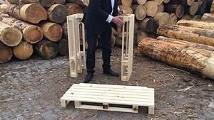 Bar Aus Holzpaletten : aufbau stehtisch in palettenoptik youtube ~ Sanjose-hotels-ca.com Haus und Dekorationen