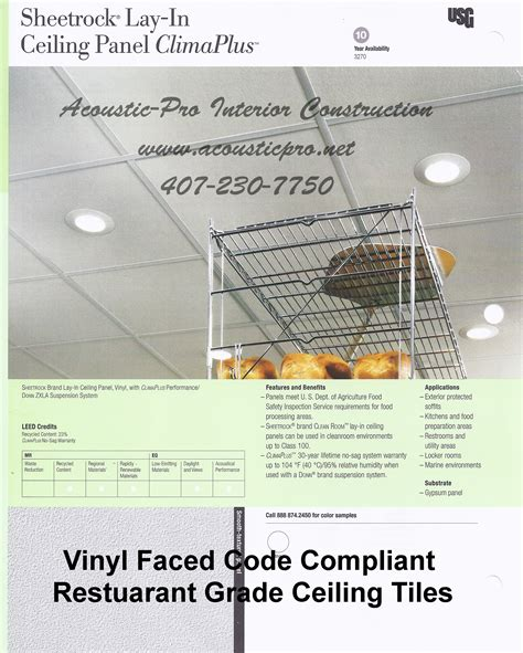 acoustic pro ceiling tile grid material orlando florida