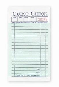 september 2012 very novel With restaurant guest check template