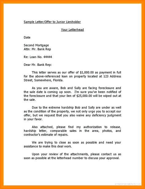 notice  lien letter template samples letter cover