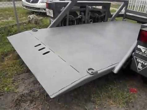 jlg triple l 7612 hydraulic drop deck trailer drop deck