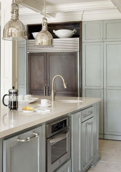 sea salt  marscapone contemporary kitchen grey