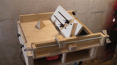make a table saw table homemade table saw sledge part 4 jig to build
