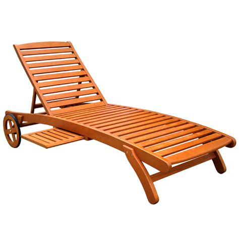 wood outdoor chaise lounge royal tahiti collection