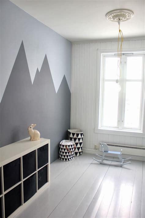 Tolle Kinderzimmer Gestalten by Tolle Wandgestaltung F 252 Rs Kinderzimmer Berge Auch Mit