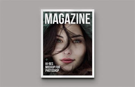 Magazine Mockup Magazine Mockup Template Medialoot