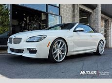 BMW 6 Series with 22in Savini BM14 Wheels exclusively from