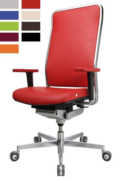 fauteuils de bureau design siege ergonomique design avec cadre chromé wagner w1