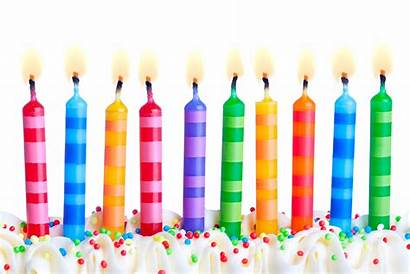 Candle Birthday Clipart Clip Candles