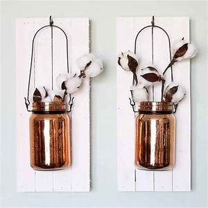 DIY Mason Jar Ideas: Wall Sconce Decorations - Darice