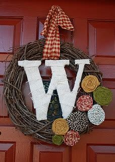 pinspired  pinterest inspired journey monogram wreath
