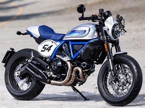 Ducati Scrambler Cafe Racer Image by Ducati Scrambler 800 Cafe Racer 2019 Fiche Moto