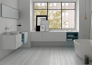 35 salles de bains design elle decoration With salle de bain epuree