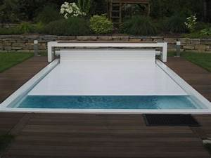 volet roulant piscine ronde With volet roulant piscine