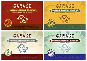 Mechanic Template Vintage Garage Oil Change Poster Design Download Free