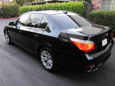 Purchase Used 2009 Bmw 535i Black Navigation Premium