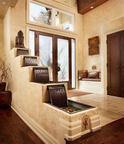 water indoor fountains  living rooms founterior