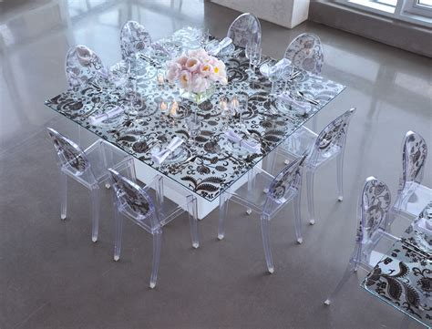 ghost chairs transparent modern  unique