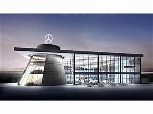 Headquarters of mercedes benz germany