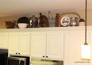 Top Of Kitchen Cabinets Ass Decoration Pictures - House