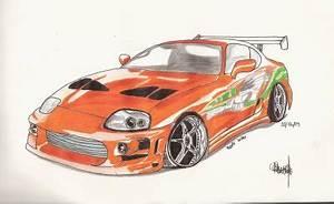 Dessin Fast And Furious : dessin by qentmart qentmart blog arts ~ Maxctalentgroup.com Avis de Voitures