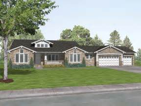 craftsman style ranch house plans rustic craftsman ranch