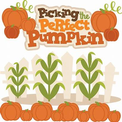 Pumpkin Svg Picking Fall Perfect Clipart Misskatecuttables
