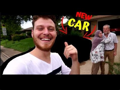 Surprising My Dad With A Brand New Car *emotional* Youtube
