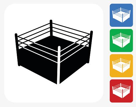 Boxing Ring Clip Art, Vector Images & Illustrations Istock