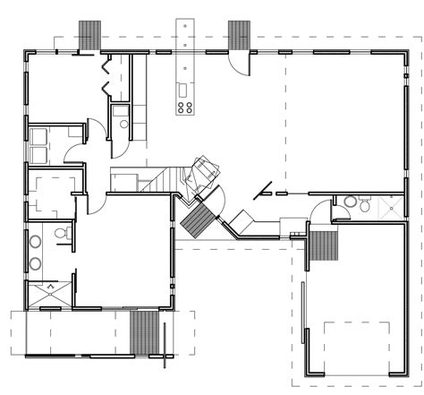 contemporary floor plans for homes modern house plans contemporary home designs floor plan 03