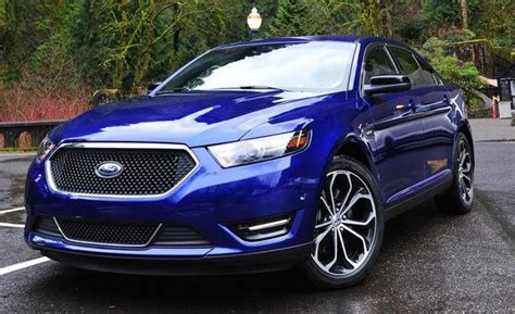 ford taurus sho car review  top speed