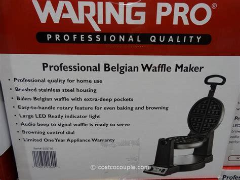 waring pro professional belgian waffle maker