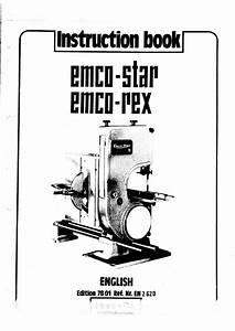 Emco Star Manual Pdf
