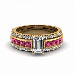 browse our emerald trio wedding ring sets online With trio wedding ring set
