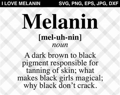 Melanin Svg Definition Vector Silhouette Educated Magic