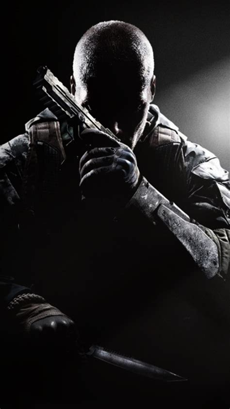 Black wallpapers for android and iphone. Free HD Cod Black Ops 3 iPhone Wallpaper For Download ...0060