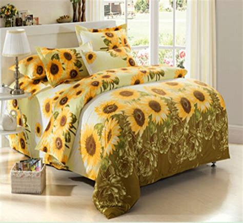 sunflower bedding webnuggetzcom