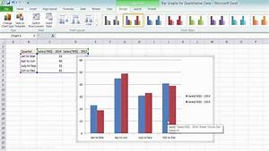 Charts With Multiple Variables Simple Bar Graph And Multiple Bar Graph Using Ms Excel