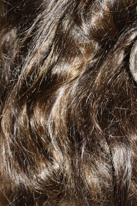 Photos Of Brown Hair by Wavy Brown Hair Texture Photos Domain