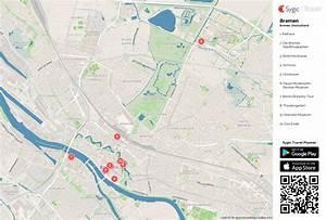Google Maps Bremen : karte von bremen ausdrucken sygic travel ~ Watch28wear.com Haus und Dekorationen