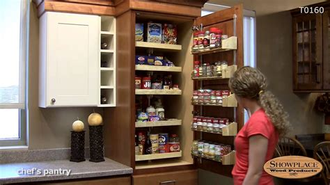 chefs pantry  drawers showplace kitchen convenience