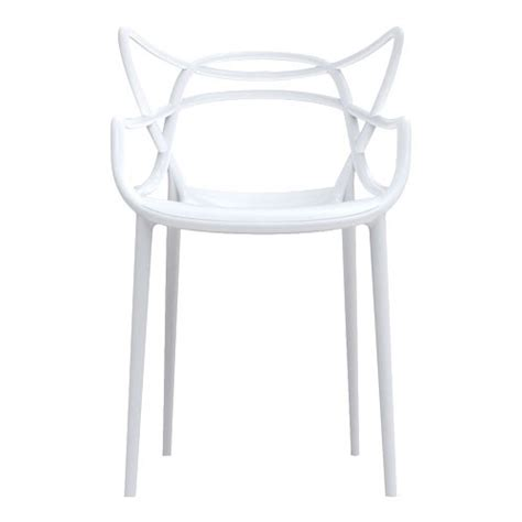 kartell chaises chaise masters kartell blanc chaise