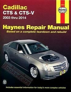 Cadillac Cts Shop Manual Service Repair Book Haynes