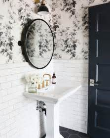 bathroom wallpaper ideas uk how to combine wallpaper and tiles in the bathroom tile mountain